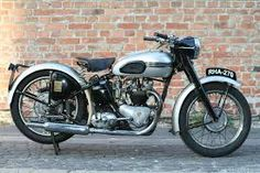 Image result for 1938 speed twin triumph motorcycle
