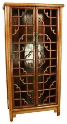 Image Antique Asian Armoire Tall Cupboard   Google Search