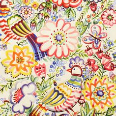 Alexander Henry House Designer - Talavera Garden - Talavera Garden in Multi Spring skirt/dress for S