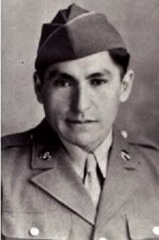 Private 1st Class Phillip Broncheau the son of Thomas and Nancy Broncheau, in the uniform of the US Army during World War II – Nez Perce – before his death on January 19, 1945 {Note: in the battle of the bulge in Belgium during World War II, 16 December 1944 - 25 January 1945, Private 1st class Phillip Brancheau while serving with the US Army's company 506th parachute infantry Regiment, 101st airborne division, was mortally wounded in combat on 24 December 1944.  While still in medical care…