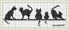 ♥ cross stitch archive ♥: cats-CROSS STITCH PATTERN