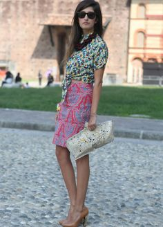 Millan street style Spring Summer Fashion 2013: not really, but Jodie will approve :)