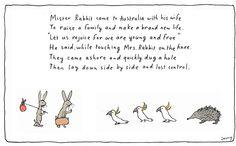 Michael Leunig - Easter cartoon