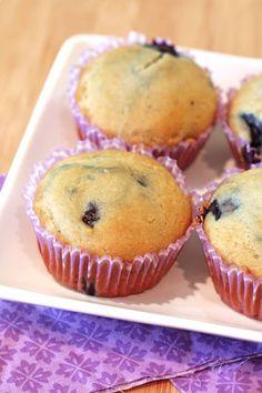 Sarah Bakes Gluten Free Treats: gluten free vegan blueberry muffins - I will use my own flour blend & palm sugar