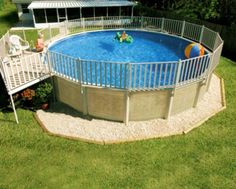 get inspired the best above ground pool designs