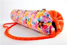 taška na jogu / yoga mat bag Yoga Mat Bag, Handmade, Hand Made, Handarbeit