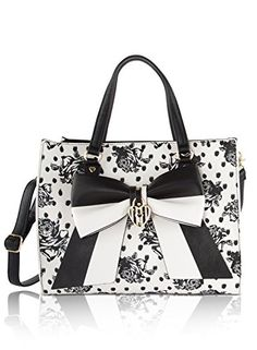 Betsey Johnson Bag in Bag Satchel Tote With Pouch - Flora... https://www.amazon.com/dp/B01N1UEV10/ref=cm_sw_r_pi_dp_x_3KJTyb0P0SX54