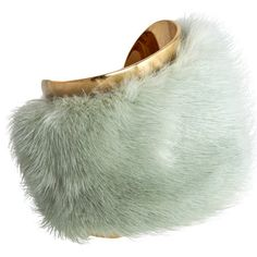 I don't usually wear fur. But when I do, I wear the J. Mendel Mink Large Cuff at Barneys.com
