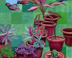 """Garden"" #Creative #Art in #painting @Touchtalent"