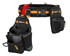 For the first time buyer, it could be too overwhelming, and therefore, we have chosen the best electrician tool belts for you to go through and pick the. Woodworking Guide, Custom Woodworking, Woodworking Projects Plans, Teds Woodworking, Carpenter Tool Belt, Carpenter Tools, Best Tool Belt, Electrician Tool Belt, Occidental Leather