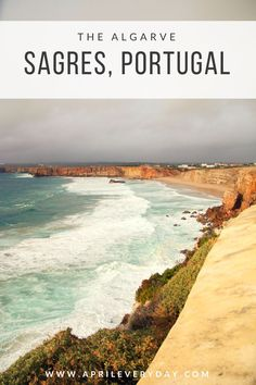 If you visit the Algarve, you definitely have to make a stop at Sagres - the views are incredible! See 5 things to do in Sagres!