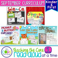September K-1 Back-to-School Bundle: Interactive Read-Alouds