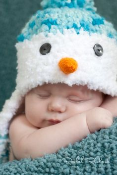 hat for Cuyler's christmas pics