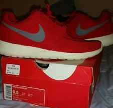 Mens Nike roshe run red sail/sport red size 9.5