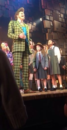 Ripley Sobo in Matilda the Musical Broadway