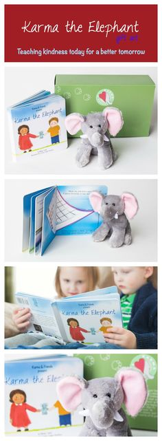 Where has this book been? Such a fantastic behavior tool for the entire year. On my wish list! Karma the Elephant