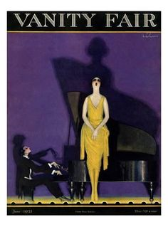 Vanity Fair Cover - June 1921 Giclee Print by William Bolin at AllPosters.com