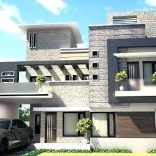 House elevation tile design idea