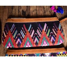 TRIBAL BAG Bohemian Embroidered Clutch WristletBoutique