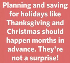 Act now ...plan ahead
