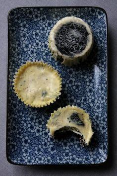 Cheesecake autrement - Mini Oreo Cheesecake