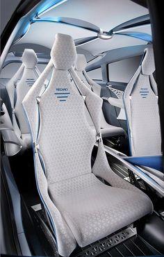 Photographs of the 2012 Toyota FT-Bh Concept. An image gallery of the 2012 Toyota FT-Bh Concept. Car Interior Sketch, Car Interior Design, Car Interior Accessories, E Mobility, Solar Car, Car Upholstery, Fancy Cars, Transportation Design, Car Detailing