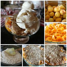 Summer's Best Apricot Crisp - Fresh picked apricots - make for delicious homemade Crisp - www.ceceliasgoodstuff.com