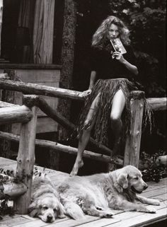 Kate Moss - Vogue Italia Bruce Weber, 2003