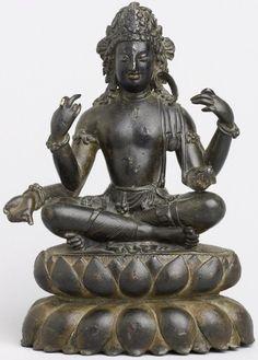 Swat Valley area – Page 2 – Himalayan Buddhist Art – Art Bouddhiste de l'Himalaya Hindu Statues, Buddha Statues, Asian Sculptures, Tibetan Art, Guanyin, Religious Icons, Buddhist Art, Swat, Gods And Goddesses