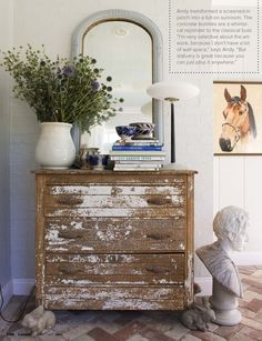 shabby chic home furnishings Distressed Cabinets, Distressed Furniture, Painted Furniture, Distressed Dresser, Rustic Dresser, Geek Furniture, Pallet Furniture, Rustic Furniture, Antique Furniture