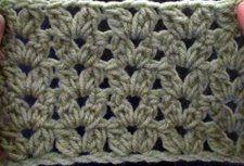 Crochet Cluster V Stitch | Crochet Geek - Free Instructions and Patterns ✿⊱╮Teresa Restegui http://www.pinterest.com/teretegui/✿⊱╮