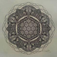 Image result for shoulder cap tattoo sacred geometry
