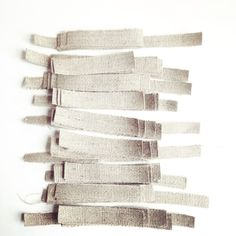 Jute all ready and measured up ready to make a new product - Grey House England
