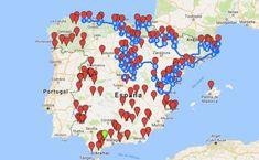 You searched for plus beaux - Viajes - - Spain Places To Visit, Beautiful Places To Visit, Land Art, Alicante, Spain Travel, Van Life, Medieval, Road Trip, Vacation
