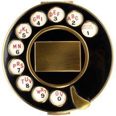 Salvador Dali for Schiaparelli HC Telephone Compact, Fall 1935.