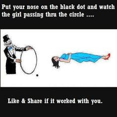 Optical illusions..holy shit it works