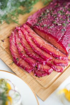 The Hungry Excavator: Beetroot & Gin Cured Salmon Gravlax