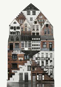 Anastasia Savinova - Collage