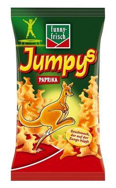 funny-frisch Jumpys Paprika 75g