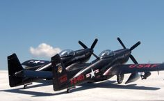 """North American F-82 G """"Twin Mustang""""."""