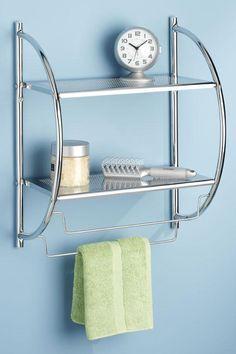 Shelves and Towel Rack