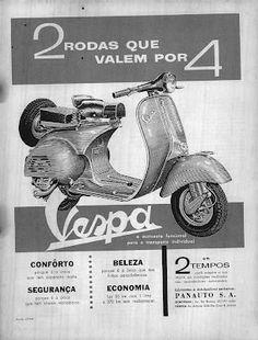 Panauto e a Vespa no Brasil (1958 - 1964) | Motoneta Floripa