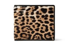 YSL leopard wallet, would feel very cool pulling this out.