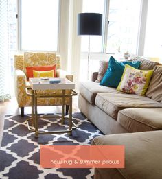 rugsusa moroccan trellis rug in charcoal ... love it so much!!