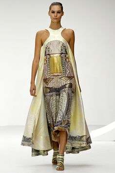 Mary Katrantzou Spring 2013 RTW - Review - Fashion Week - Runway, Fashion Shows and Collections - Vogue - Vogue