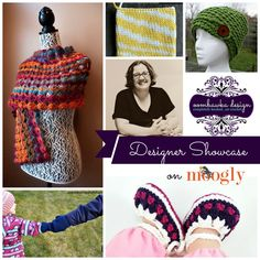 The Moogly Designer Showcase featuring Rhondda Mol of Oombawka Designs: Includes 5 FREE crochet patterns!