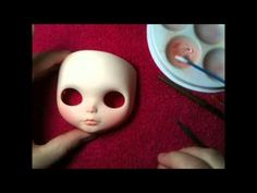 Blythe Doll Custom Process Part 1   maceyloubrown - YouTube