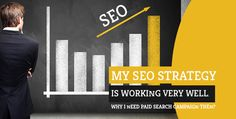 SEO and paid searches are generally seen as mutually exclusive. What happens sometimes is because of the fact that search visibility has already been achieved Seo News, Seo Strategy, Very Well, Portal, Campaign, Wellness, Search, Searching