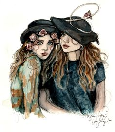 Mary-Kate and Ashley Illustrated love it!