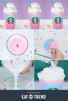 Starbucks Unicorn Frappuccino Recipe | POPSUGAR Food